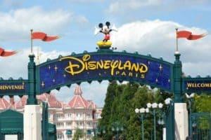 wejście do Disneylandu