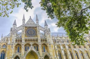 fasada opactwa Westminster