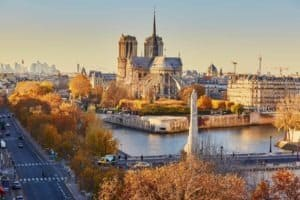 centrum Paryża