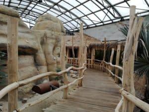 """Pawilon """"Madagaskar"""" w Zoo Dvur Kralove"""