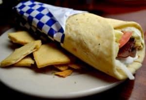 Grecki fast-food - gyros w picie