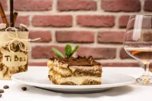 Włoski deser tiramisu