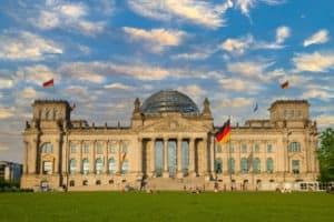 Budynek niemieckiego parlamentu