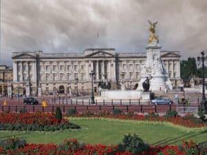 Plac przed pałacem Buckingham