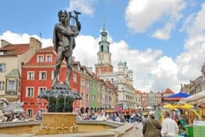 Fontanna Apolla na poznańskim rynku