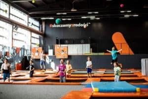 gdański park trampolin JumpCity