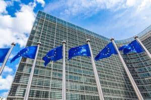 brukselskie budynki Unii Europejskiej