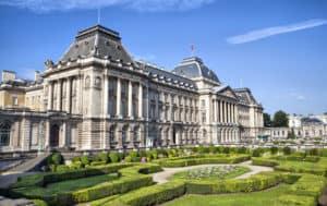 brukselska siedziba Króla Belgów