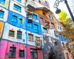 wiedeński budynek Hundertwasserhaus