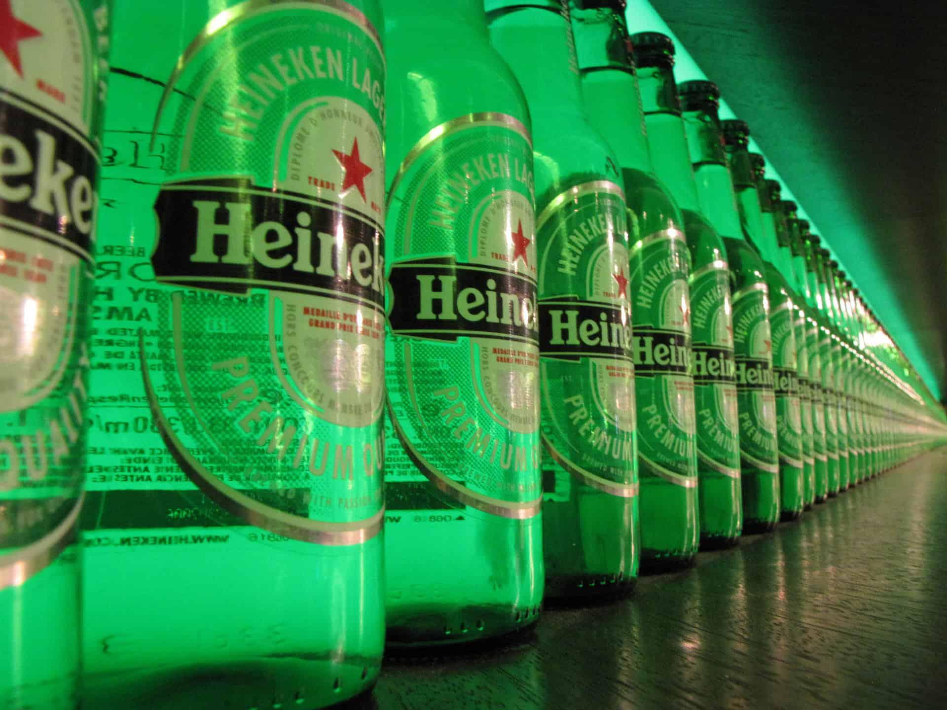 instalacja w amsterdamskim browarze Heinekena