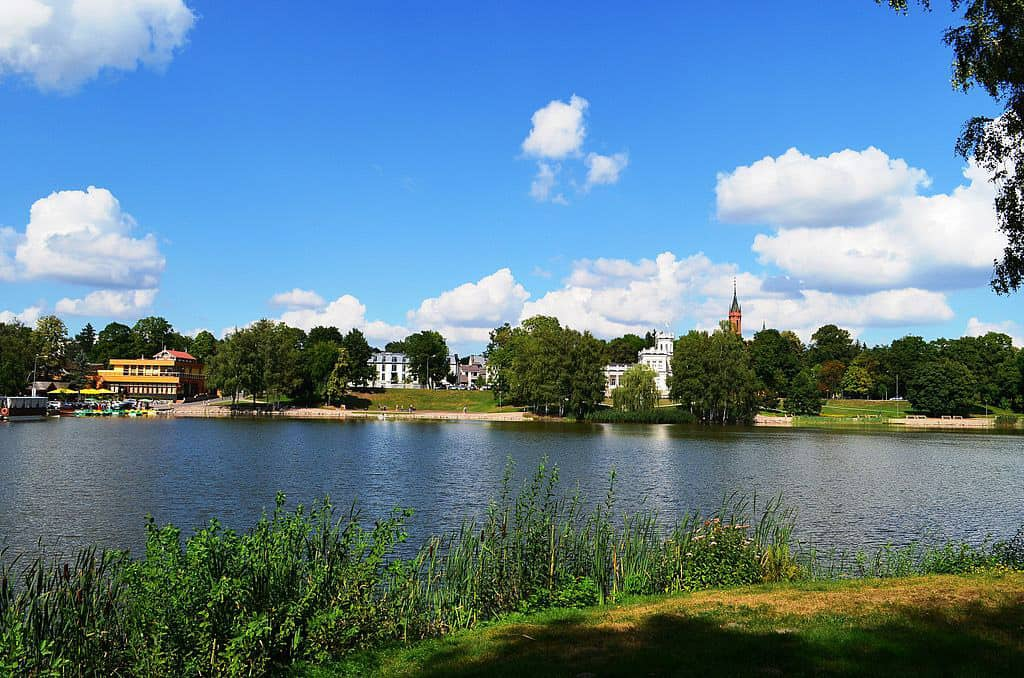 rzeka Niemen na wysokości Druskiennik